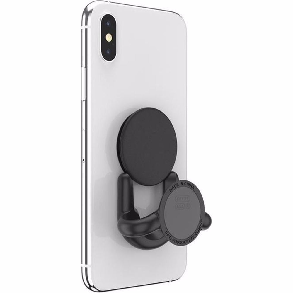 PopSockets telefoonhouder PopMount Multi Surface (Zwart)