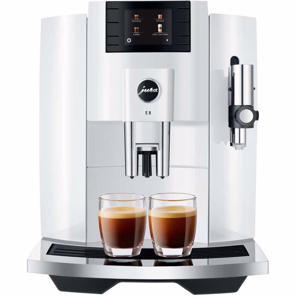 Jura espresso apparaat E8 EB (Piano White)