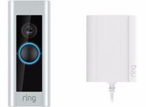 Ring videodeurbel Pro + stekkeradapter