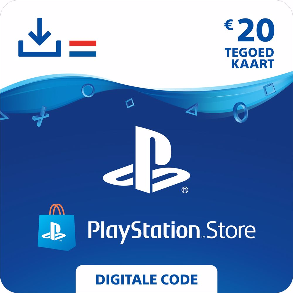 PlayStation Network Tegoed 20 Euro – direct download