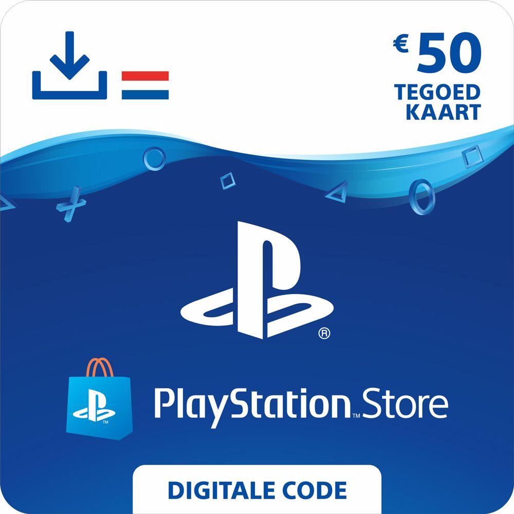 PlayStation Network Tegoed 50 Euro – direct download