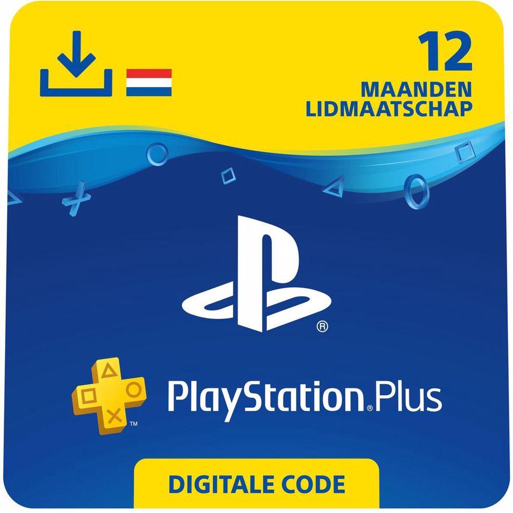 Sony PlayStation Plus 12 maanden - direct download