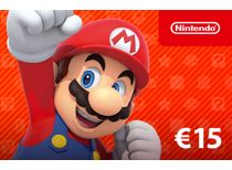 Nintendo eShop-tegoed: 15 Euro - direct download