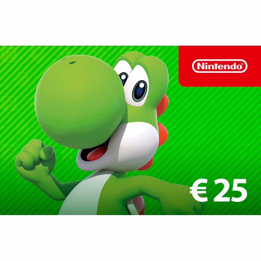 Nintendo eShop-tegoed: 25 Euro - direct download