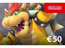 Nintendo eShop-tegoed: 50 Euro - direct download