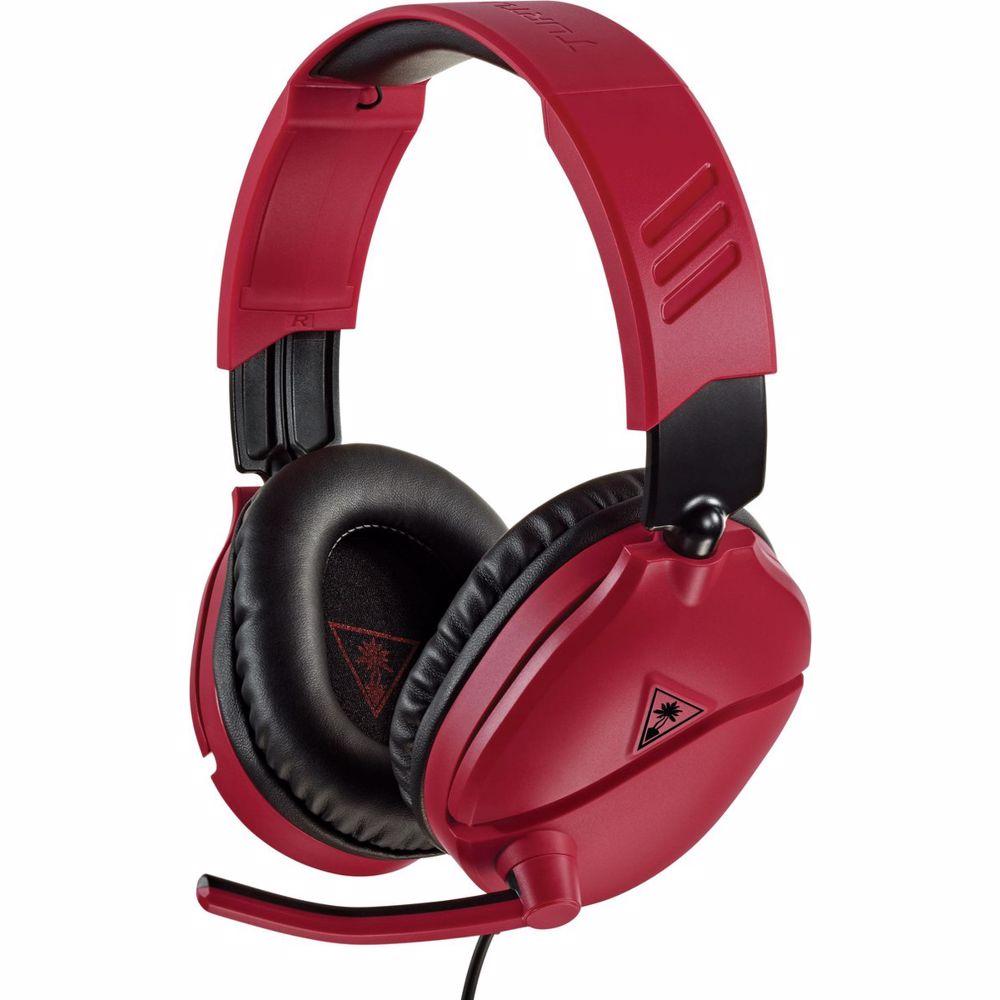 Turtle Beach gaming headset Recon 70N Switch (Rood/Zwart)