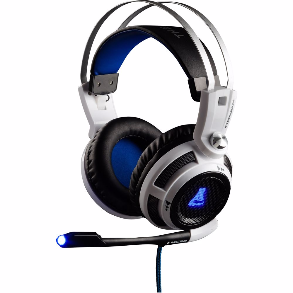 The G-Lab Korp 200 Gaming Headset PC/PS4/Xbox (Wit)