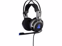 The G-Lab Korp 200 Gaming Headset PC/PS4/Xbox (Grijs)