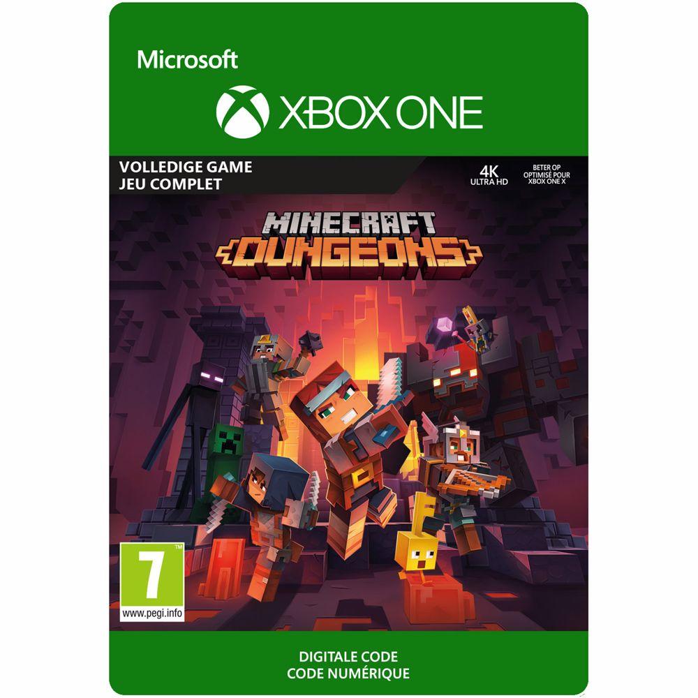Minecraft Dungeons Standard Editie Xbox One - direct download
