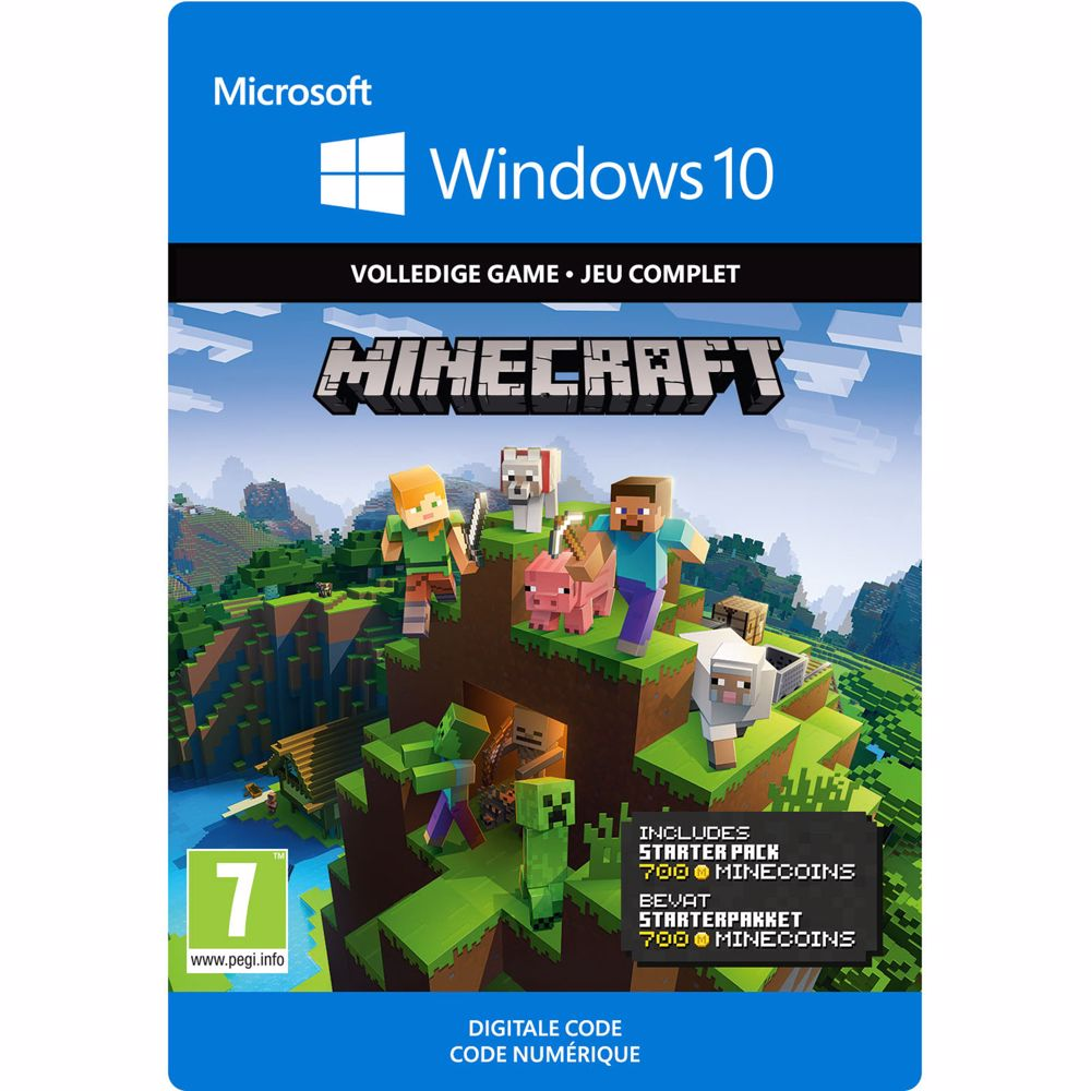Minecraft Starter Collection - Win10 - direct download