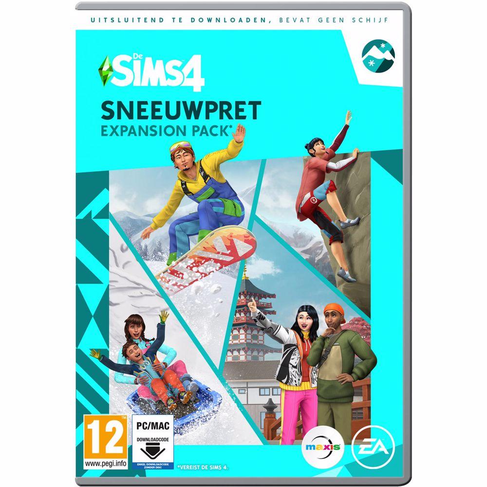 De Sims 4 Sneeuwpret PC (Expansion Pack) Download code