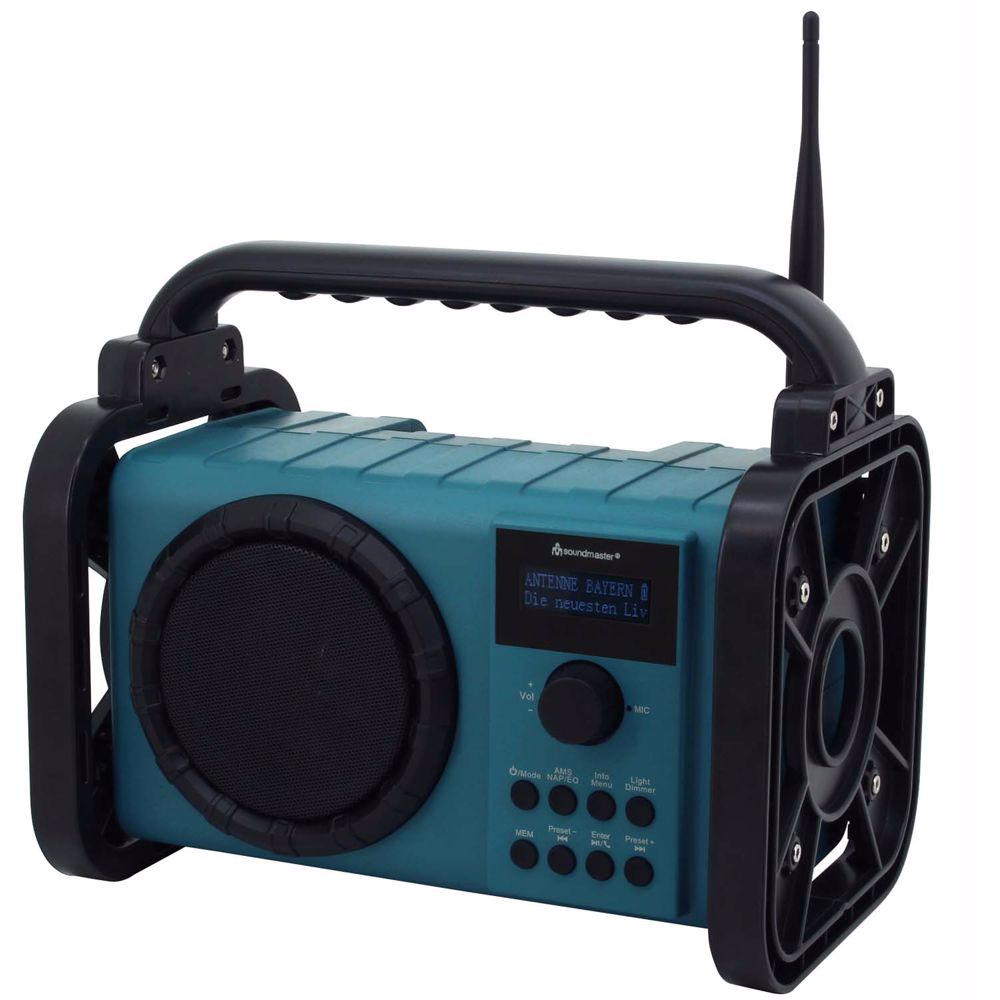 Soundmaster DAB+ FM radio met bluetooth DAB80