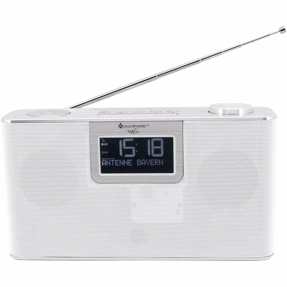 Soundmaster DAB+ FM radio met bluetooth DAB700WE