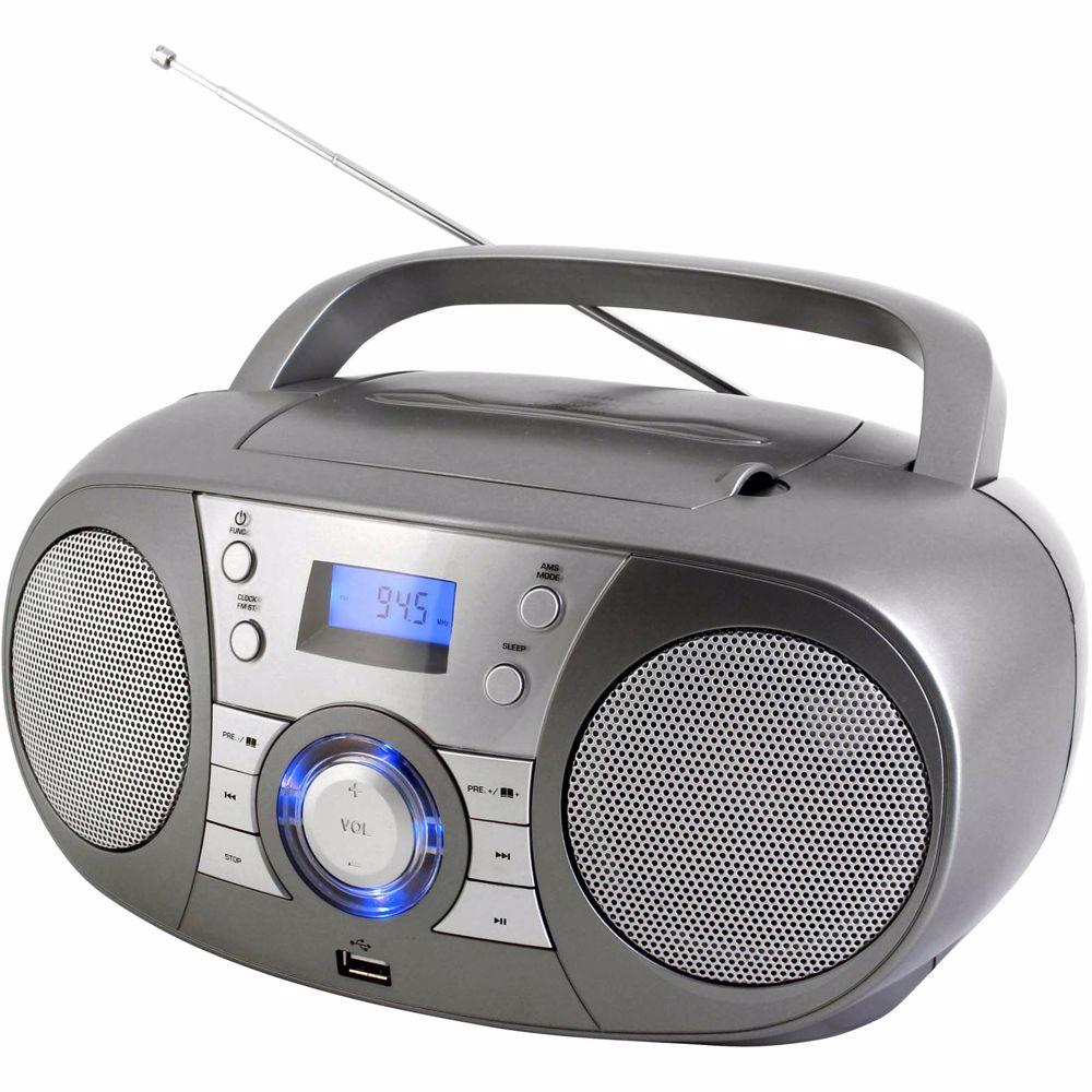 Soundmaster Boombox SCD1800TI met bluetooth