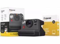 Polaroid analoge camera Now Everything (Zwart)