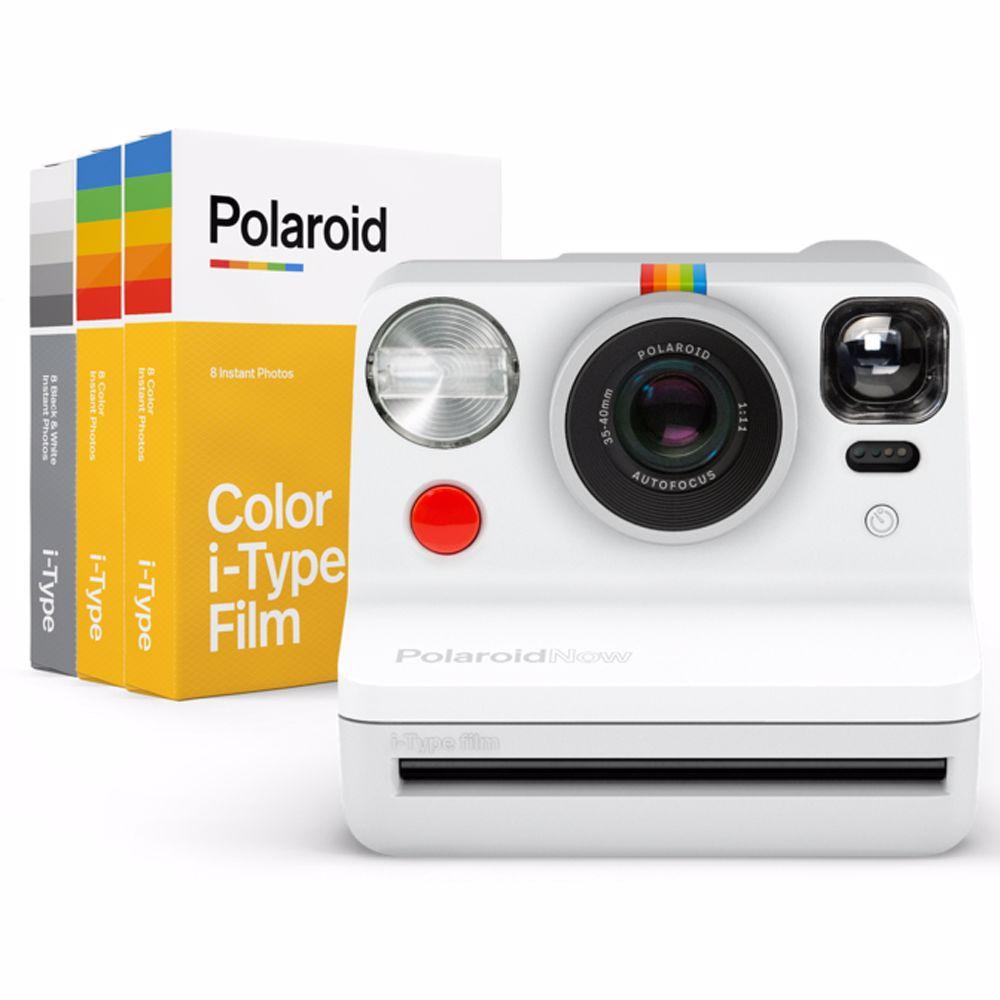 Polaroid analoge camera Now Everything (Wit)