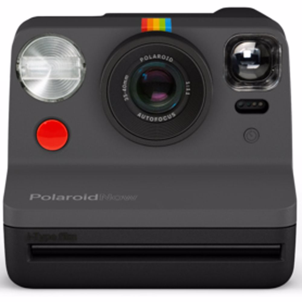 Polaroid analoge camera Now (Zwart)