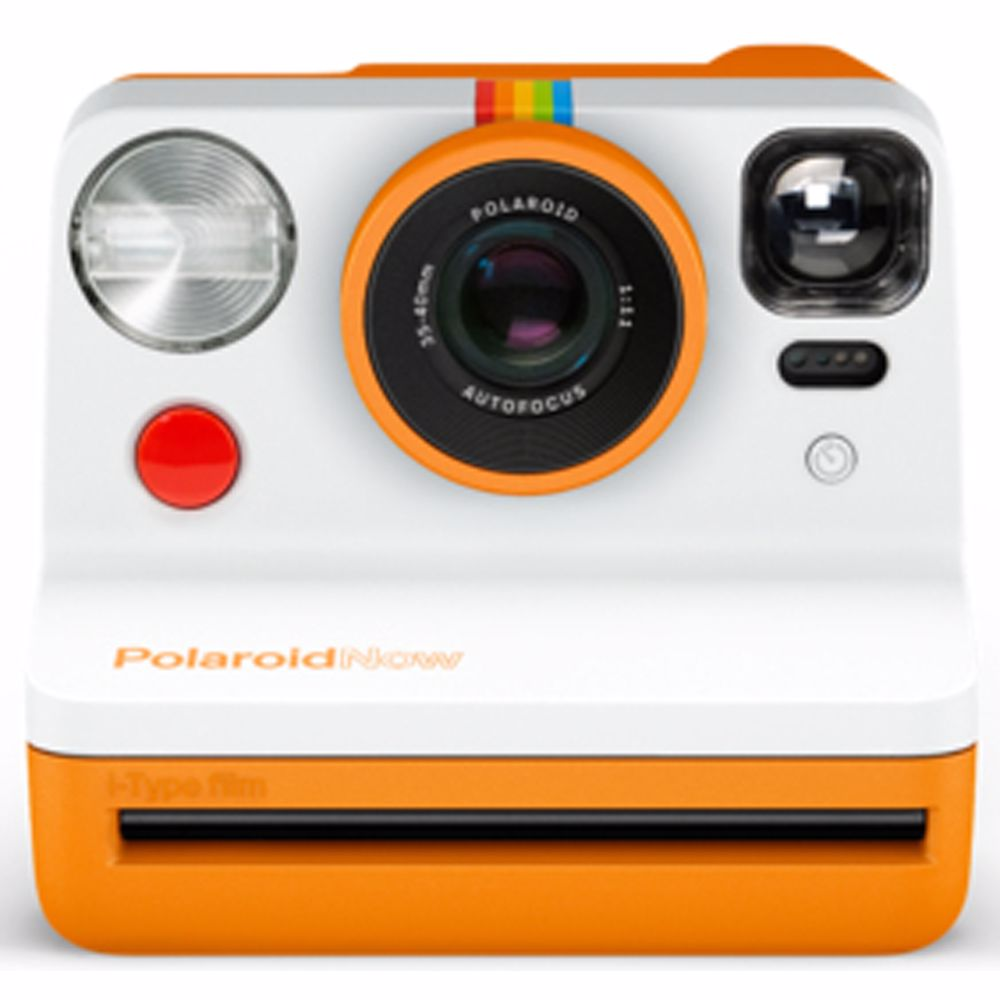 Polaroid analoge camera Now (Oranje)