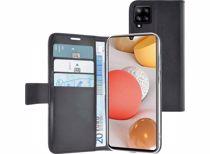 Azuri telefoonhoesje Samsung A42 Wallet Case (Zwart)