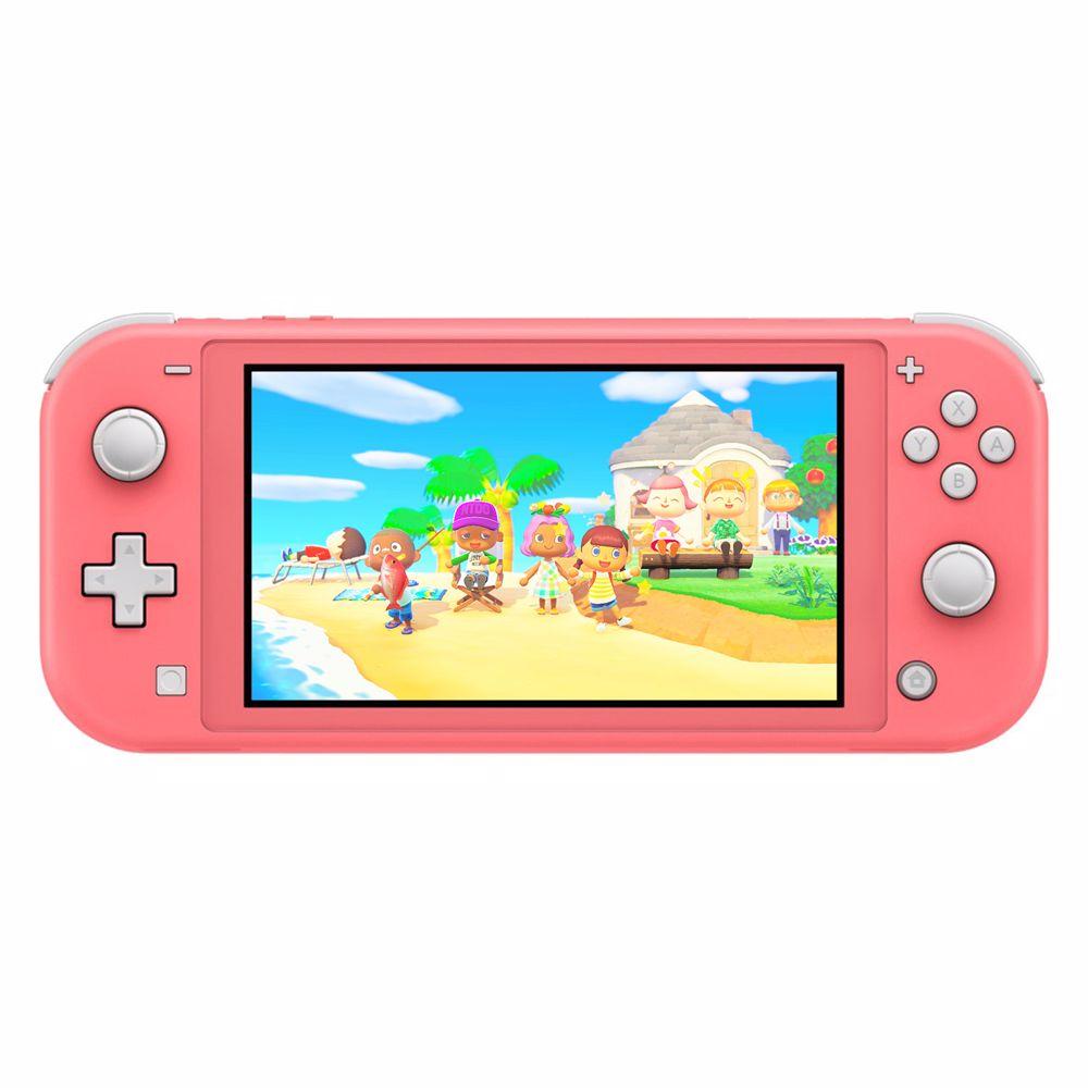Nintendo Switch Lite (Koraal) Animal Crossing + Gratis NSO