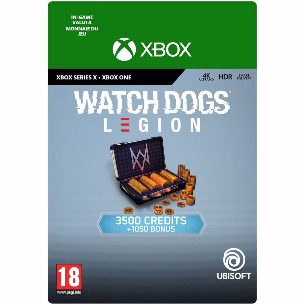 Watch Dogs Legion 4.550 WD Credits Xbox Series X -direct downoad