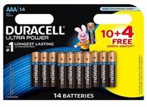 Duracell AAA wegwerpbatterijen Ultra Power (10+4 stuks)