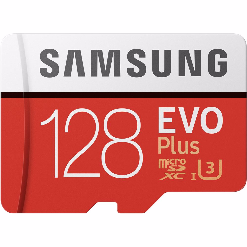 Samsung geheugenkaart microSD 128GB EVO+