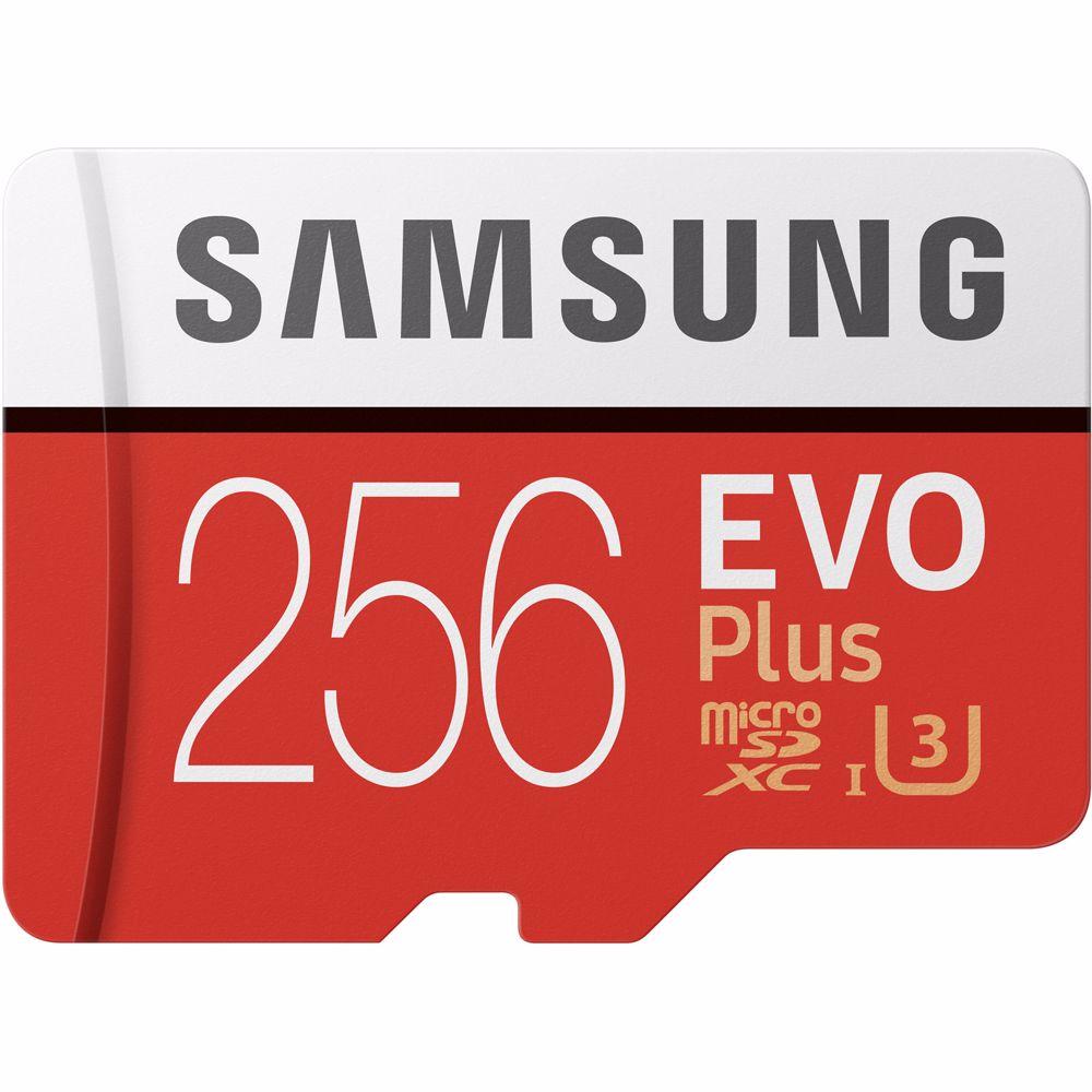 Samsung geheugenkaart microSD 256GB EVO+