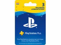 Sony PlayStation Plus 3 maanden - fysieke kaart