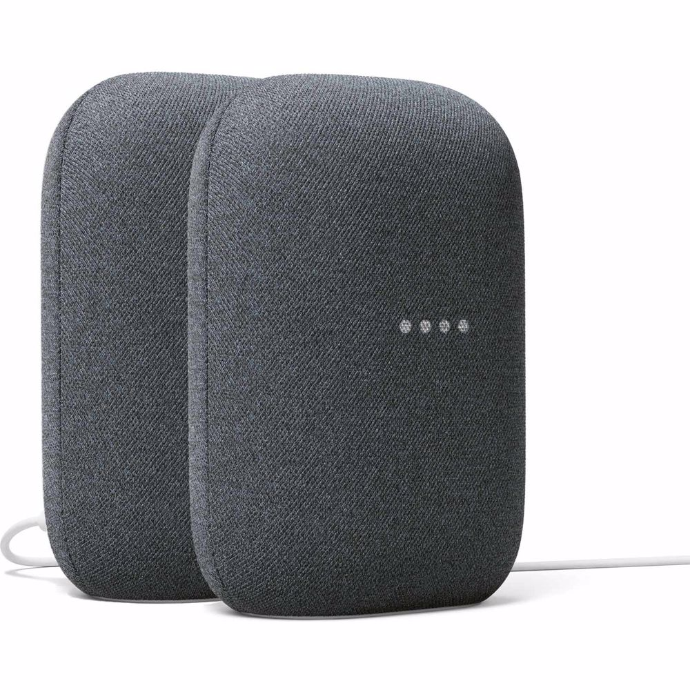 Google Nest Audio duo pack (Donker Grijs)