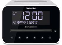 Technisat wekkerradio Digitradio 52 CD (Wit)