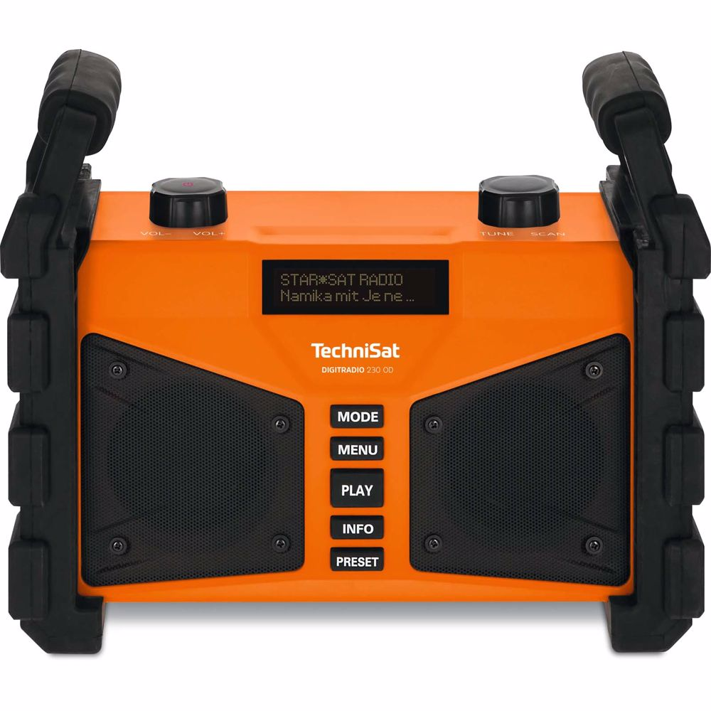 Technisat DAB+ FM radio Digitradio 230 OD Bluetooth (Oranje)