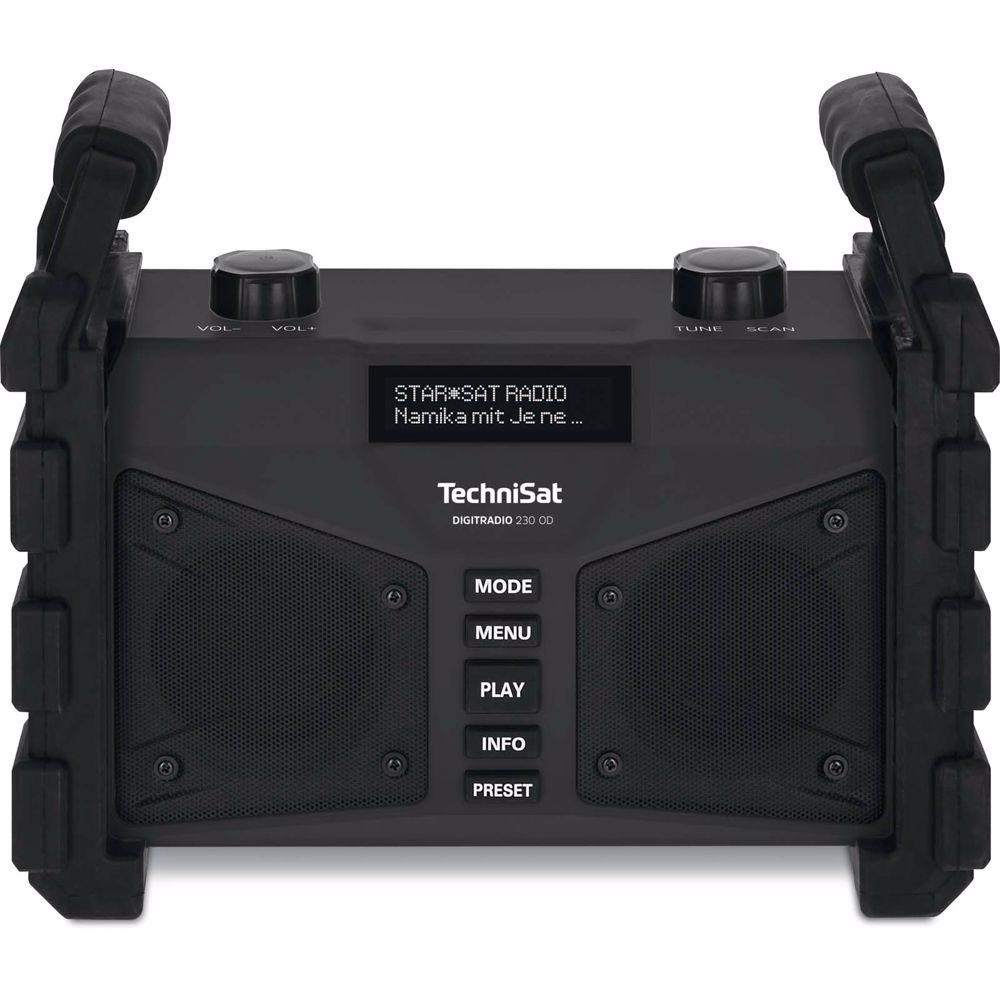 Technisat DAB+ FM radio Digitradio 230 OD Bluetooth (Zwart)