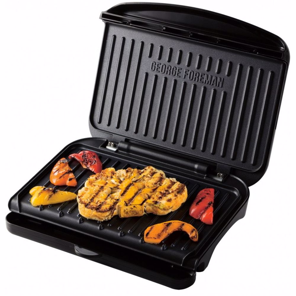 George Foreman contactgrill Fit Grill medium 25810-56 (Zwart)