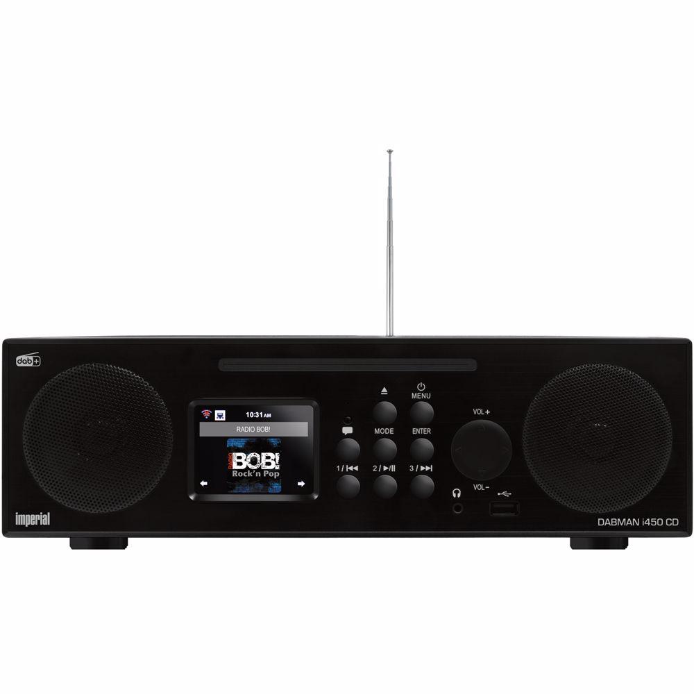 Imperial Dabman i450 CD DAB+ radio (Zwart)
