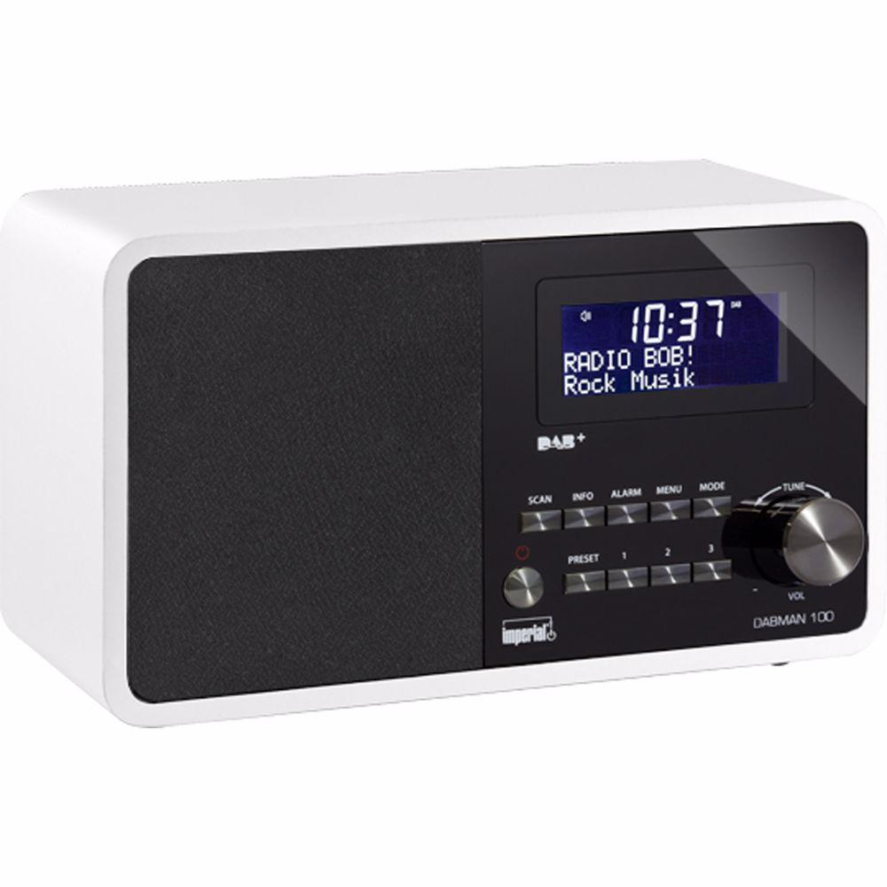 Imperial DAB+ radio Dabman 100 (Wit)