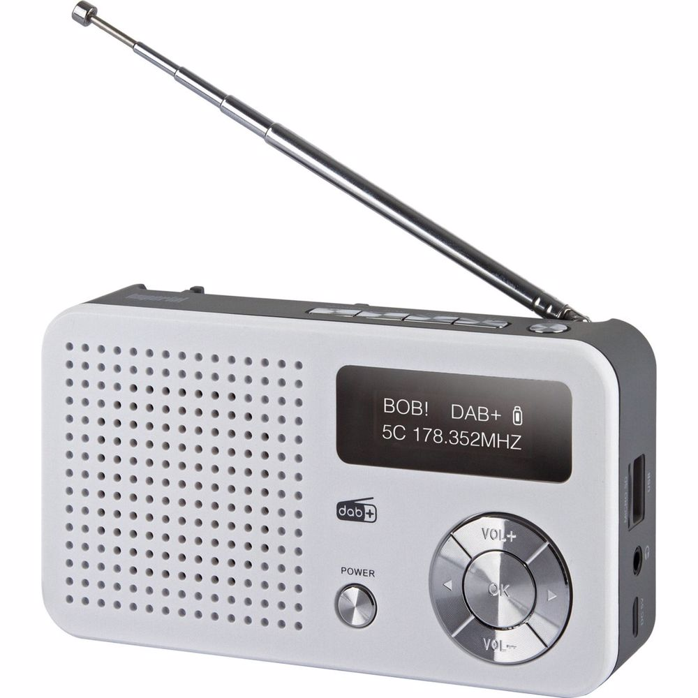 Imperial draagbare radio DAB+ Dabman 13 (Wit)