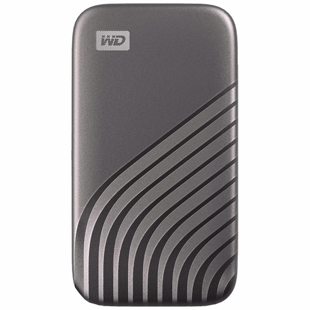 Western Digital externe SSD 500GB My Passport  (Zilver)