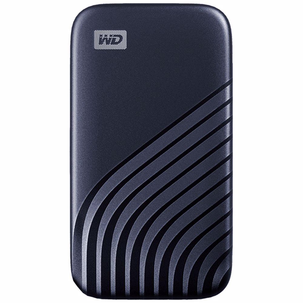Western Digital externe SSD 500GB My Passport (Blauw)