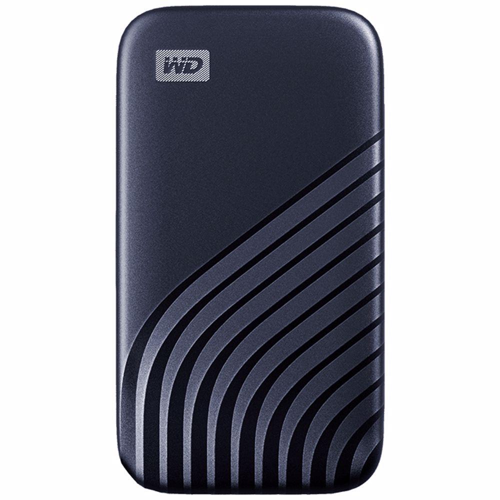 Western Digital externe SSD 1 TB My Passport (Blauw)