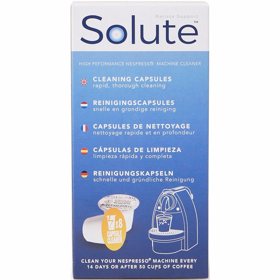 Solute Nespresso® reinigingscapsules