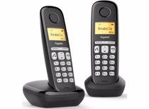 Gigaset DECT telefoon AL380 Duo (Zwart)