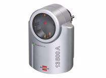 Brennenstuhl beveiligingsadapter overspanning (Zilver)