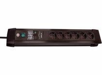 Brennenstuhl overspanningsbeveiliging Premium-Line 6 (Zwart)