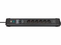 Brennenstuhl Premium-Line 6-voudige stekkerdoos met 2x USB
