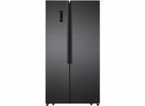 Exquisit Amerikaanse koelkast SBS135-040FDI (Donkergrijs)