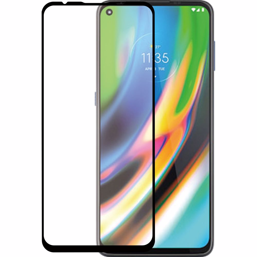 Azuri screenprotector Motorola G9 Plus (Transparant)