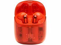 JBL draadloze in-ear oordoppen T225TWS Ghost Edition (Oranje)