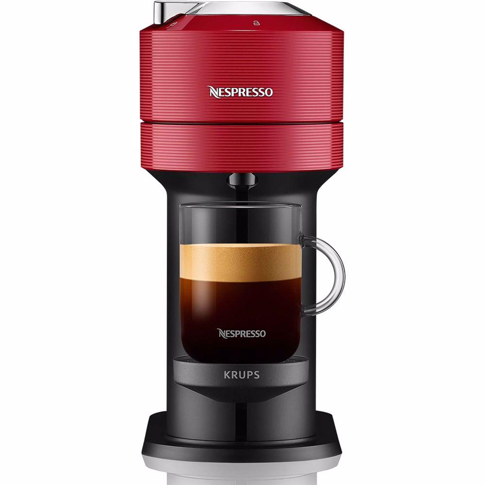 Nespresso Krups koffieapparaat Vertuo Next XN9105 (Rood)