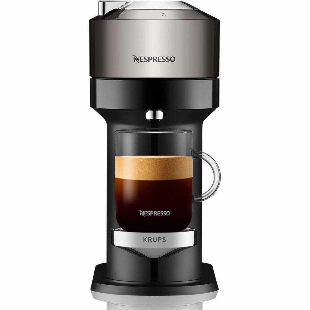 Nespresso Krups koffieapparaat Vertuo Next XN910C (Chrome)